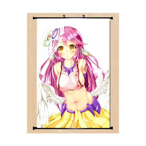 NO GAME NO LIFE Sexy Japan Anime Home Decor Wall Scroll Poster 009