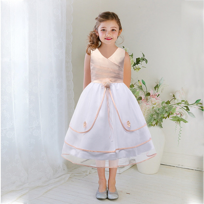 61cf2f319 Christmas dress girl Dress girl of 10 years old Children dressed up for the holidays  Snow girl dress girl Christmas-in Dresses from Mother & Kids on ...