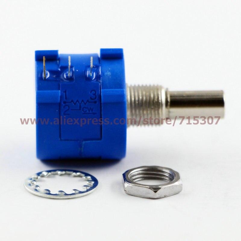 8772d601c3d3 PHISCALE 5 pcs 3590 S rotary bobinés potentiomètres de précision résistance  réglable 5 K 10 tours