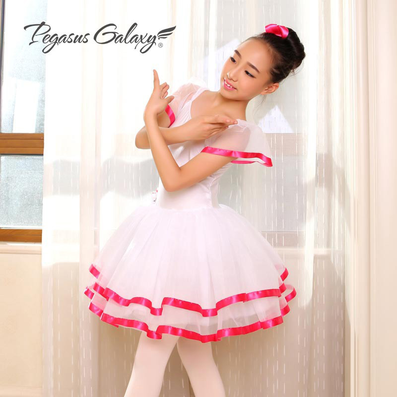 Free Shipping Gymnastic Leotard Disfraz Infantil Ropa De Ninas Girls Ballet Tutu Dance Dress Adult Long Tutu Skirt Ballet Dress