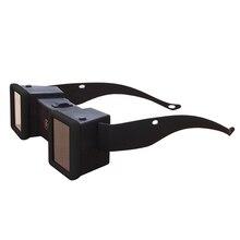 Mini estéreo 3D visor estereoscopio vidrios de la película 3D