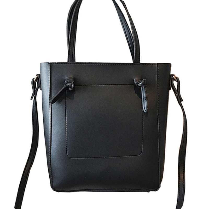 Women\'S Handbags Soft Leather Top Handle Bags Ladies PU Female Bag Women\'S Large Capacity Bucket Handbags