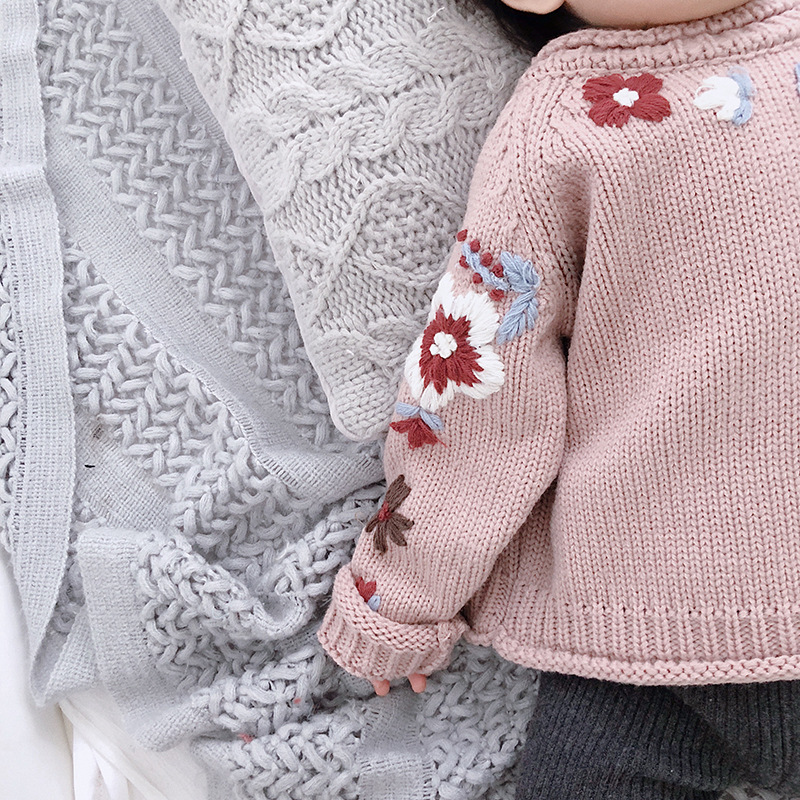 Toddler Baby Boys Pullover Sweater Kid Cute 7 Cotton Knit Sweatshirt