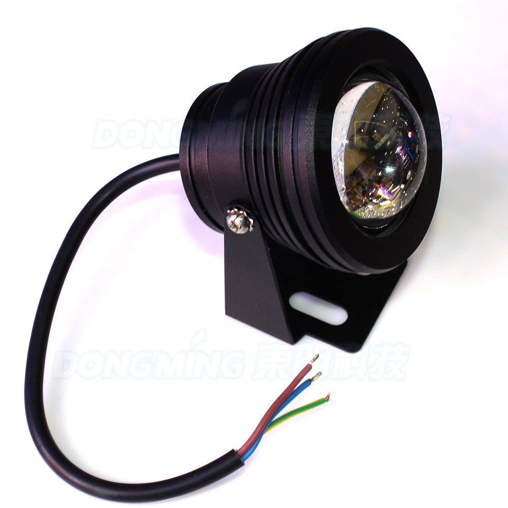 Lights & Lighting 10pcs Black Cover Underwater Led Light White/warm White Ac85-265v 10w Pool Lights Convex Lens Underwater Led Lamp Convenient To Cook Led Lamps