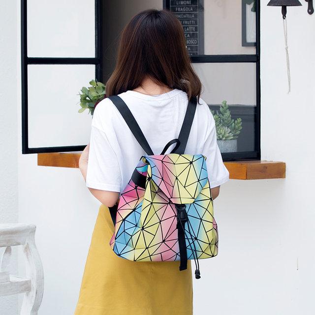 1ae79eadfc11 Online Shop New Rainbow Bao Women Backpacks Fashion Girl Daily ...