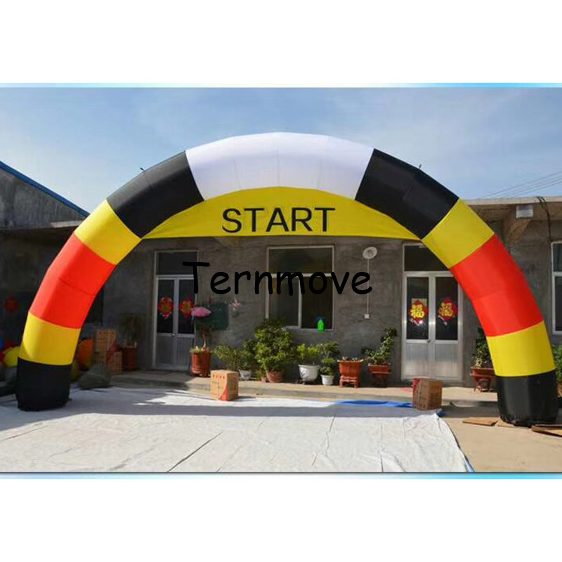 все цены на 8m inflatable entrance arch finsh line for race events with logo inflatable start archway arch gate arch door