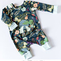 Easter Gift for Newborns Print Moon Bunny Baby Boy Girl Clothes Cartoon Rabbit Baby Romper Jumpsuit Onesie Children Clothing