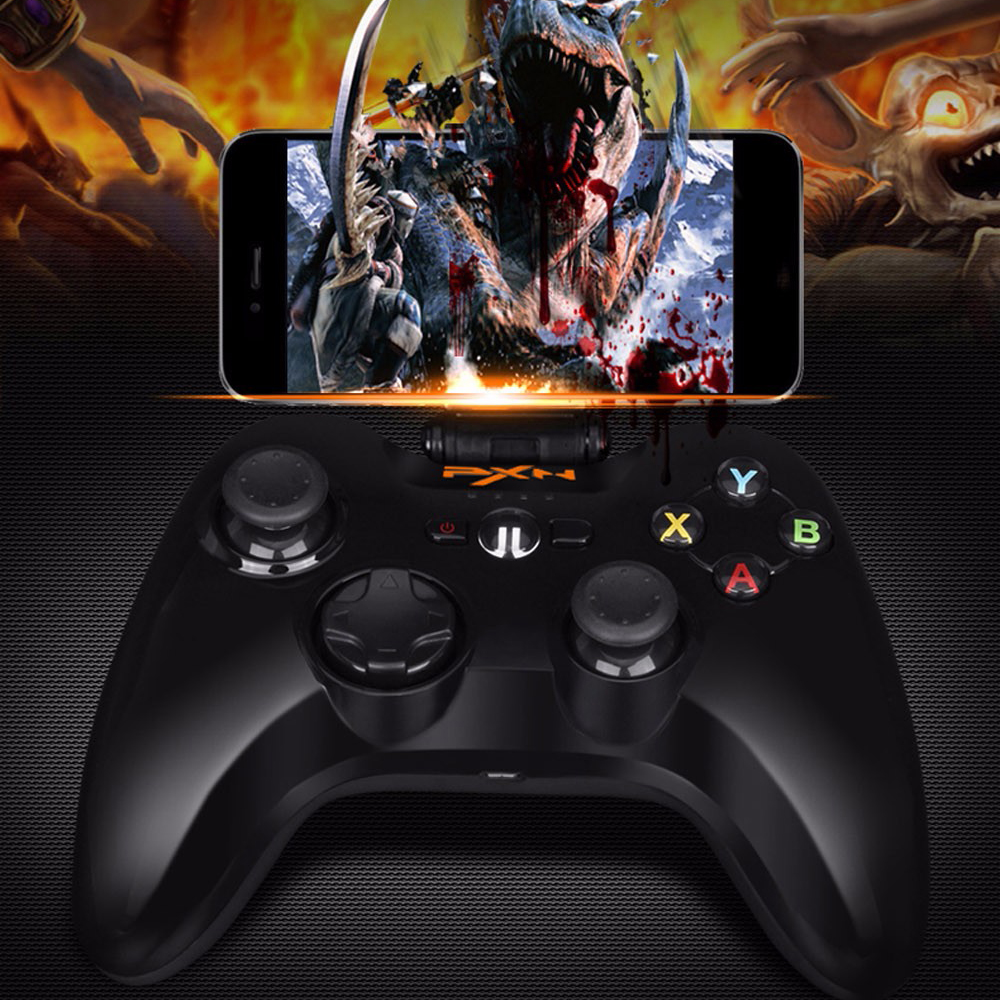 $39.99 Portable Joystick Vibration Handle Gamepad PXN - 6603 MFi Certified Wireless Bluetooth Game Controller For iphone/ipad/App TV