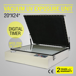 VACUUM UV EXPOSURE UNIT SCREEN PRINTING MACHINE DIGITAL STAMPING PCB DRYING