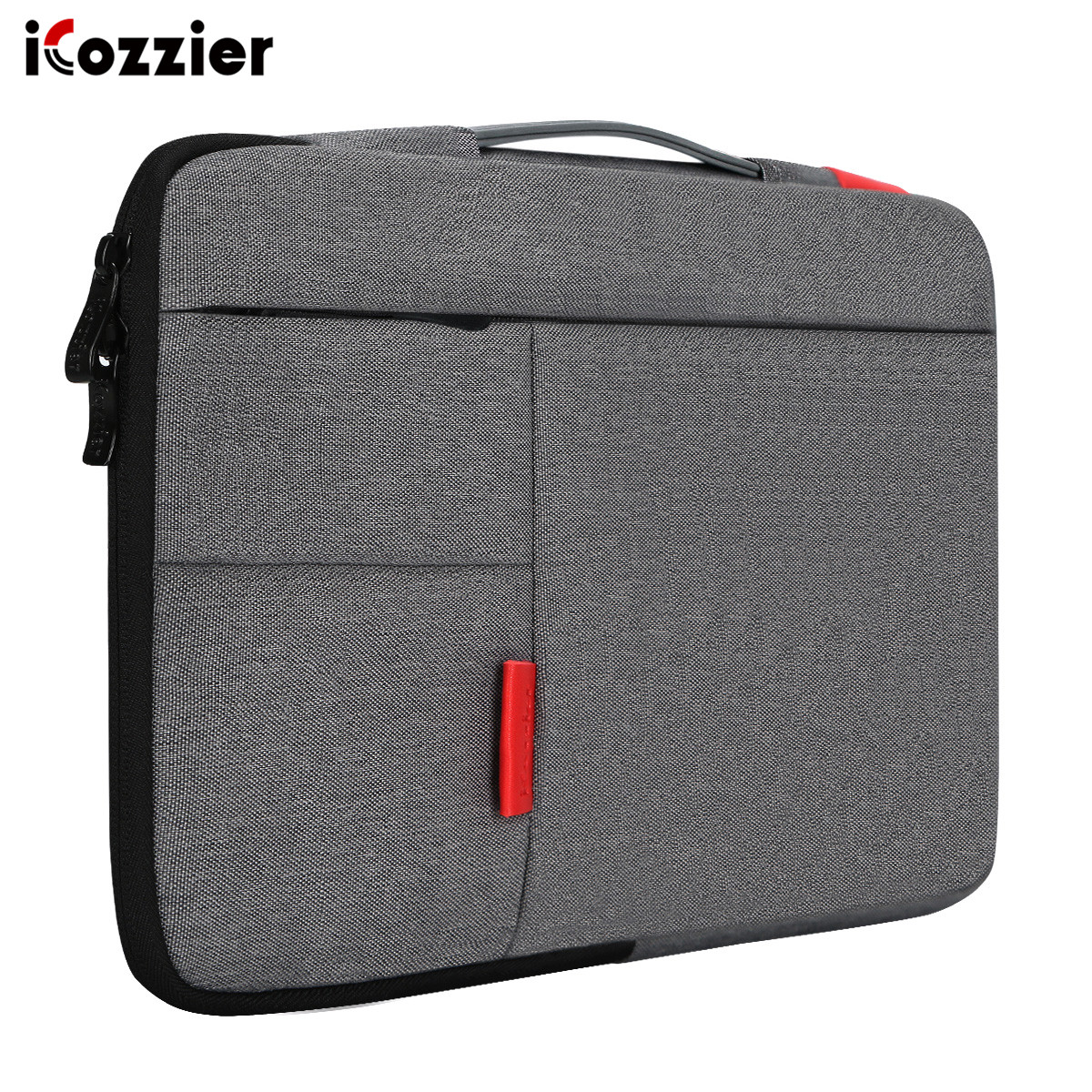 iCozzier 13.3/15.4/15.6 Man Notebook Laptop Sleeve Bag Pouch Case for Dell HP Asus Lenovo Macbook Pro 15.6 image