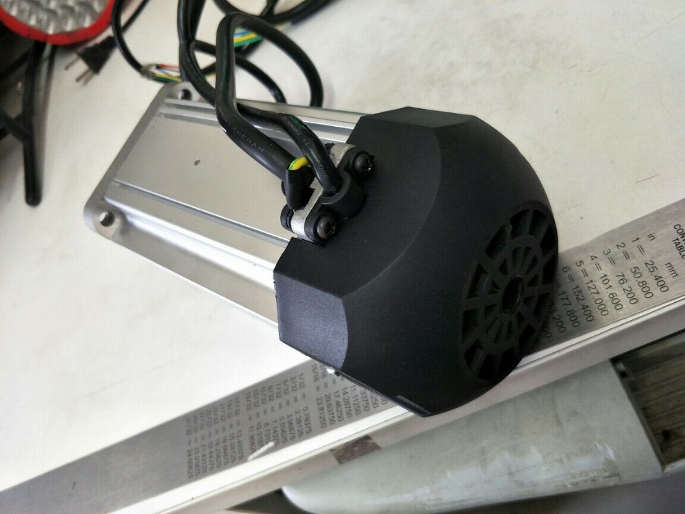 310V brushless DC motor  Flange 80mm  Body length 180mm 1200W 4000rpm brushless motor