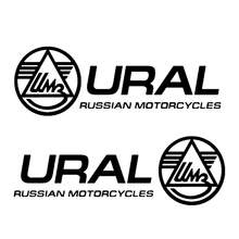 CS 1444#24*8cm Ural funny car sticker vinyl decal silver/black for auto car Motorcycles stickers styling