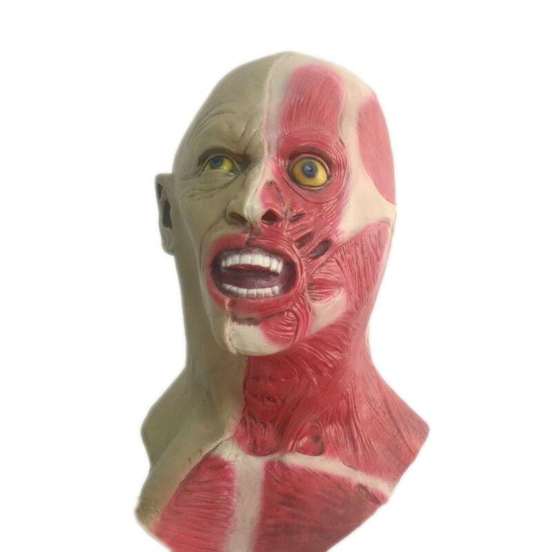 Halloween Horror Double Faced Latex Mask Full Head Scary