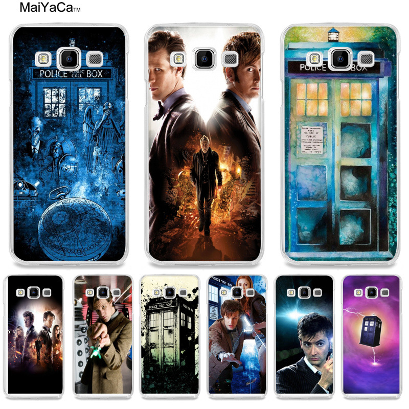 Half-wrapped Case Earnest Maiyaca Doctor Who New Arrival Phone Accessories Case For Samsung A510 A3 A7 A8 A9 Note 4 Note3 Case Funda Phone Bags & Cases