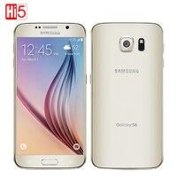 Mở khóa Samsung Galaxy S6 G920F/S6 Cạnh G925F Điện Thoại Di Động Unlocked Octa Core 3 GB RAM 32 GB ROM WCDMA LTE 16MP Máy Ảnh 5.1 inch