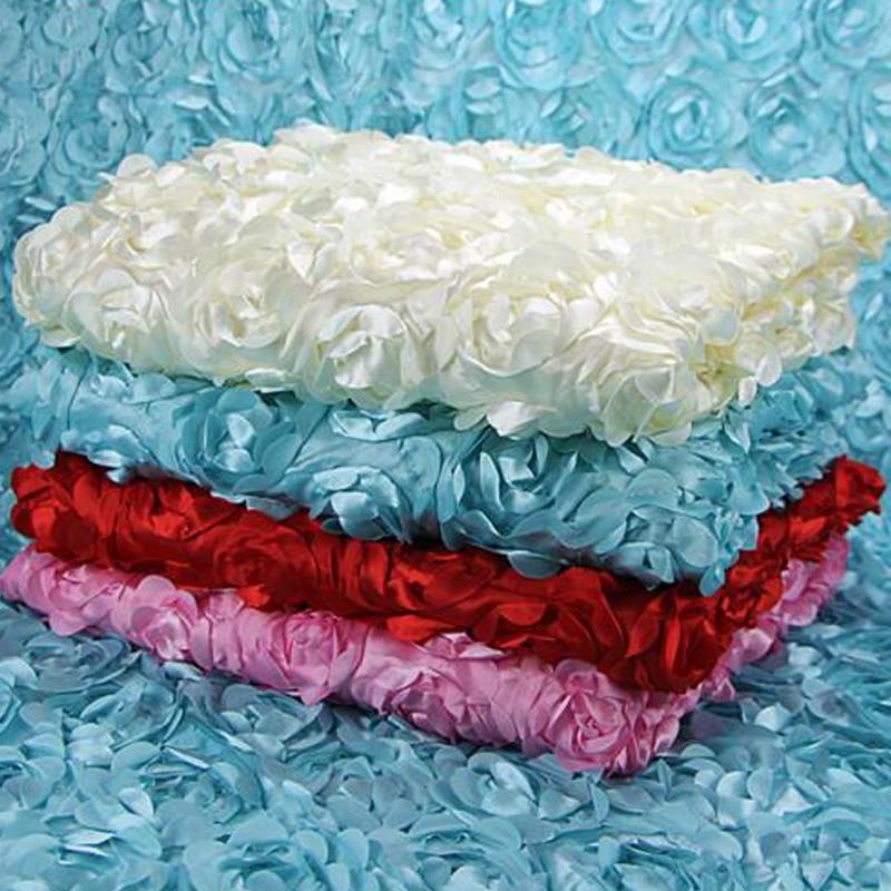2017 90 * 150cm 3D Rózsa Virágok Szövet kézműves ruha esküvői - Művészet, kézművesség és varrás