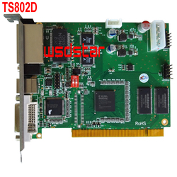 TS802D LED sending card Video controller card RGB sending program TS801 TS802 3pcs/lot