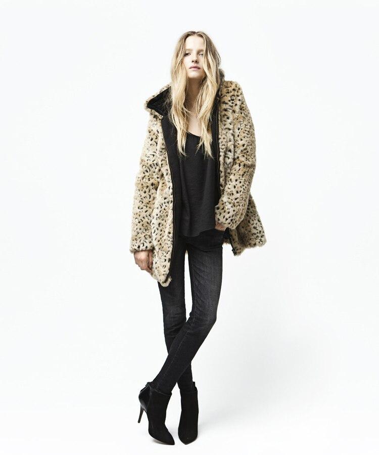 Online Get Cheap Leopard Print Faux Fur Coat -Aliexpress.com
