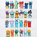 Novo 2016 Bonito 24 pçs/set Dos Desenhos Animados Anime 4.5-5 cm Mini Brinquedos Slugterra Ação PVC Figures Toys Dolls Criança