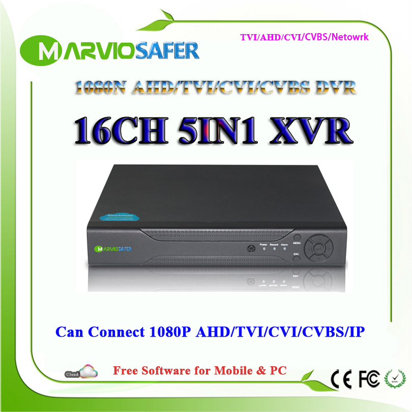 16ch 16 Channel 1080N AHD-NH AHD TVI CVI DVR AVR TVR HVR XVR CCTV Camera Recorder Video Recording System Can Connect AHD-H брюки h connect h connect hc002emaawq3
