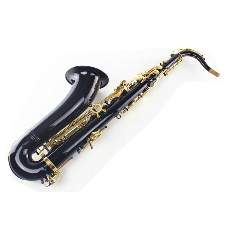 Black Salmer 54 Tenor Sax B Flat Saxophone Top Musical Instrument Saxe Wear-resistant Black Nickel Gold Professional Sax big promotionsts r54 b selmer tenor saxophone musical instrument antique brass wire drawing sax