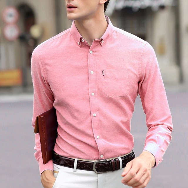Qiyun.z Brand Clothing Shirt Dress Mens Formal Casual Slim Fit Shirt Clothes Dresse Shirts Size M-5XL Camisa Masculina Shirts