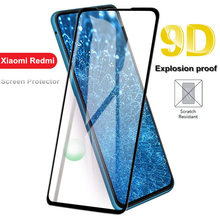 New 9D Tempered Glass For Xiaomi 6 8 Pro 9 SE mi lite Pocophone F1 5X A1 6X A2 Full Cover Screen Protector Film