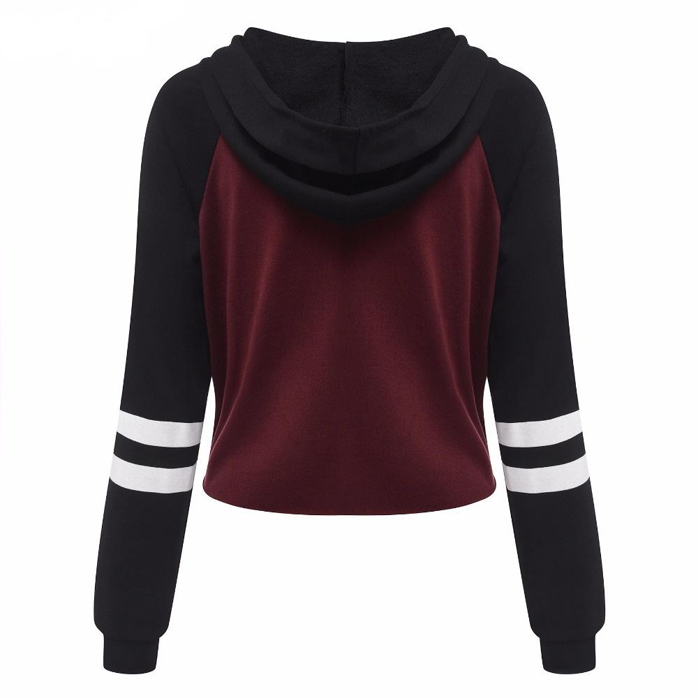 2016 Casual Hoodie Sweatshirt Women Hoodies Hooded Long Sleeve ...