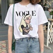 New Graphic Vogue T Shirt Women Fashion Harajuku Ullzang Cartoon T-shirt Funny Printed 90s Tshirt Ko