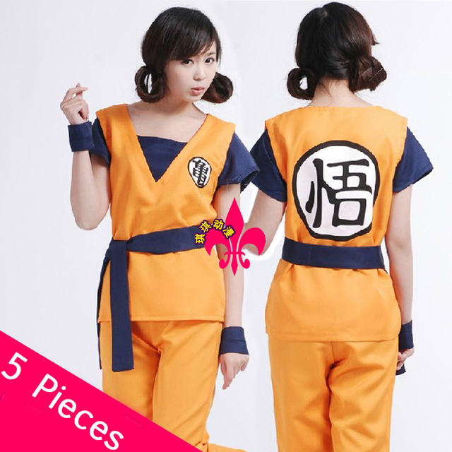 Free Shipping Dragon Ball Z Costume Men Women Goku Cosplay Dragon Ball Costume  sc 1 st  AliExpress.com & Free Shipping Dragon Ball Z Costume Men Women Goku Cosplay Dragon ...
