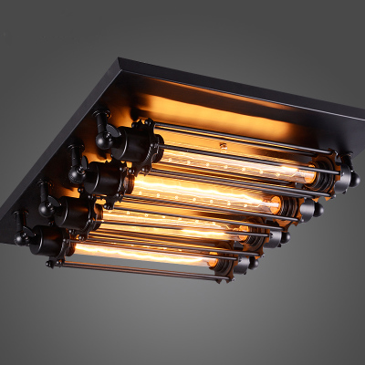 loft retro t30 edison bulb ceiling light fixture wrought iron industrial vintage edison wall ceiling lamps