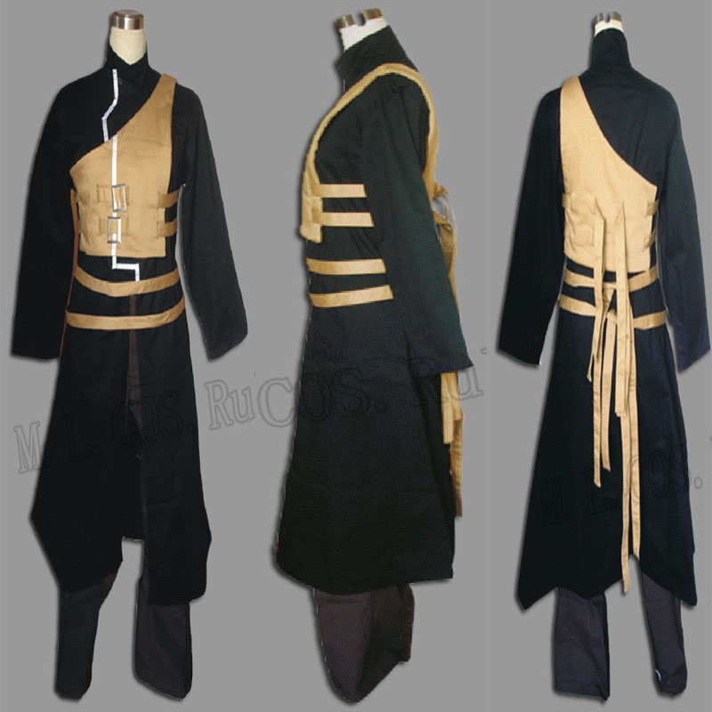 Highest Quality Naruto Gaara Second Generation Cosplay Costume Anime Free Shipping