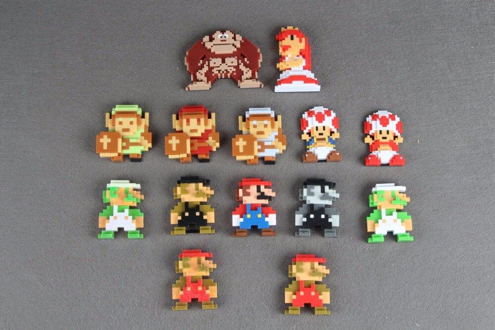 Super Mario 8 Bit Mario Plush