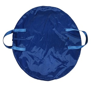Image 2 - Azul marino profesional Ballet tutú bolsa Rosa impermeable lona Flexible y plegable suave Ballet bolsa panqueque tutú azul cielo
