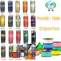 Filamentos plásticos do filamento 1.75 da impressora 3d do filamento da impressora 3d do filamento da impressora do filamento 1.75 do pla/abs multi-cores 1kg
