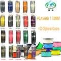 JURUI PLA/ABS 3D filament 1.75 multi-couleurs 1kg bobines en plastique filament 1.75 3D imprimante filament impressora 3D filamento