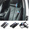 Nuevo Estilo///M Sports Car Cinturones de seguridad y Relleno De fibra de Carbono correa de cuero del hombro de la manga para el BMW X3 X1 X5 X6 Serie 5 7 Series