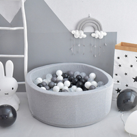Baby Dry Ball Pool Ocean Ball Playpen Toys For Children Baby Playgournd Ball Pit For Kids Without Ball Birthday Christmas Gift