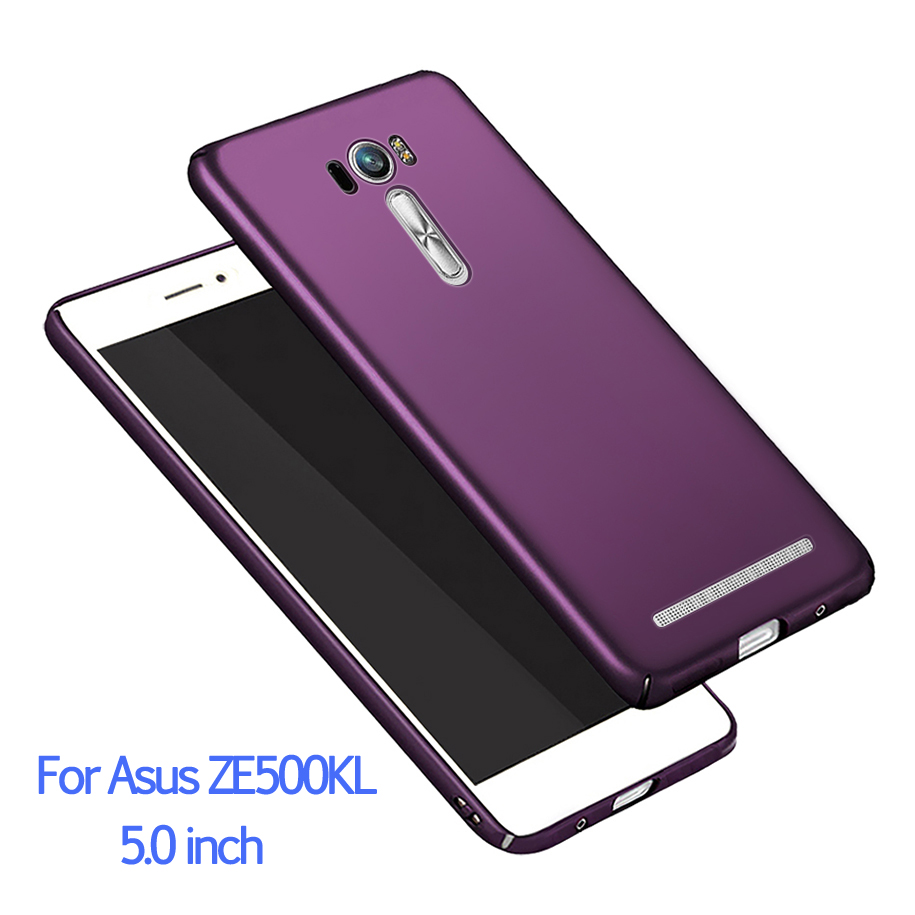 Hard Matte Phone Case For Asus Zenfone <font><b>2</b></font> Laser ZE500KL ZE500KG Cases Slim PC Cover Fundas For Asus Zenfone <font><b>2</b></font> Laser <font><b>ZE</b></font> <font><b>500KL</b></font> 5.0