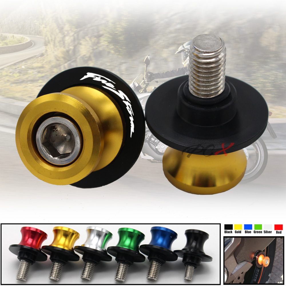 Motorcycle Accessories CNC Aluminum M8 Swingarm Spools Slider Stand Screw For Honda VFR800 F/X VFR750 VFR1200X CBF1000 VTR1000F