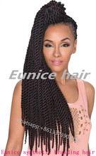 HAVANA MAMBO TWISTS Crochet Hair Extension Hot Sale Curly Braids For Black Hair Braiding Style Grace Hair Products cheap braids