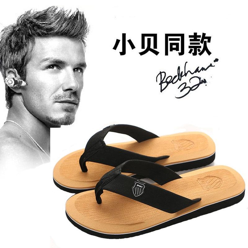 Jintoho High Quality Genuine Leather Men Slippers Flip Flops Men Slides Fashion Casual Flip Flop Slippers Summer Beach Slippers Skillful Manufacture Flip Flops