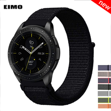 20 22mm watch band For Samsung Gear s3 Frontier Classic s2 galaxy watch 46mm 42mm sport nylon amazfit bip huawei watch gt strap