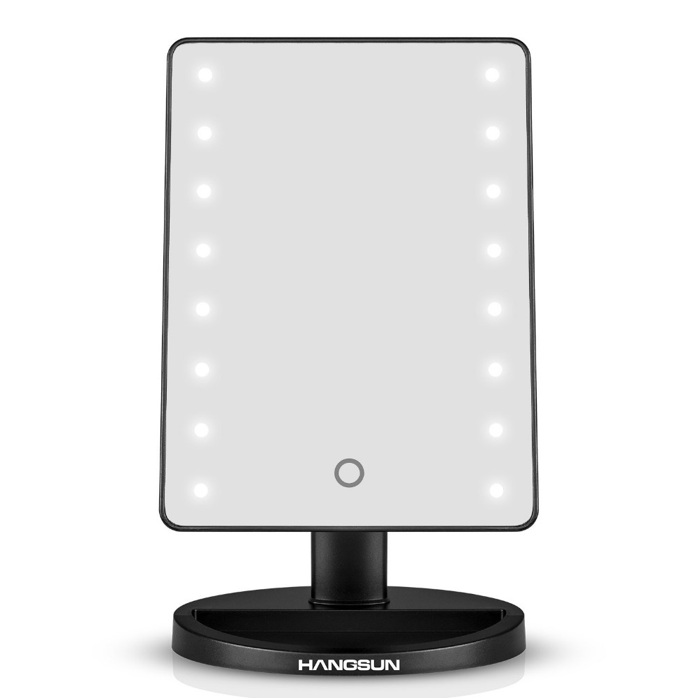 Hangsun LED Illuminated Cosmetic Mirror B90 Lighted Make Up Shaving Mirror. Compare Prices on Illuminated Shaving Mirror  Online Shopping Buy