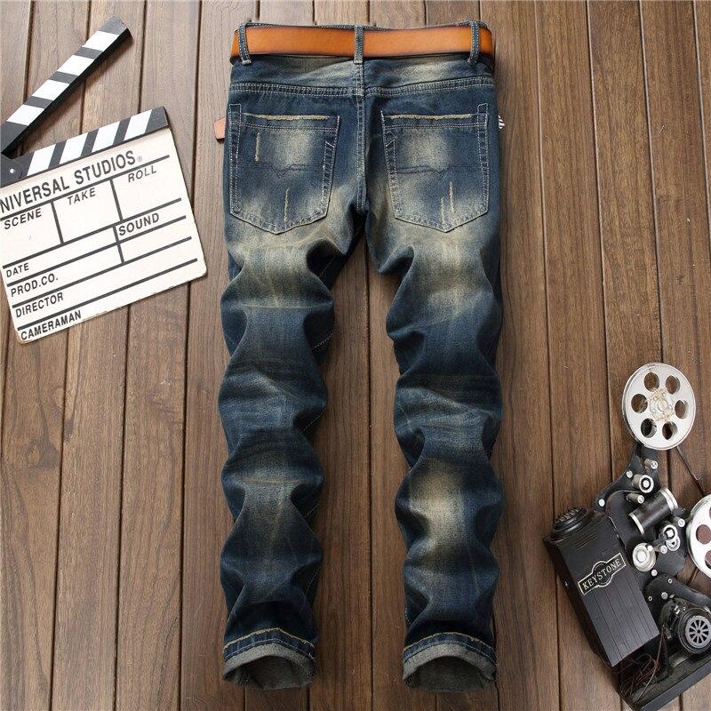 Slim Mode La Américain Bleu Blue Droite Hommes Marque Européenne Jeans 0795 Nouvelle De Trous À Denim Styles 2018 Tigre Broderie Pantalon Déchiré pwxtnqOwP8