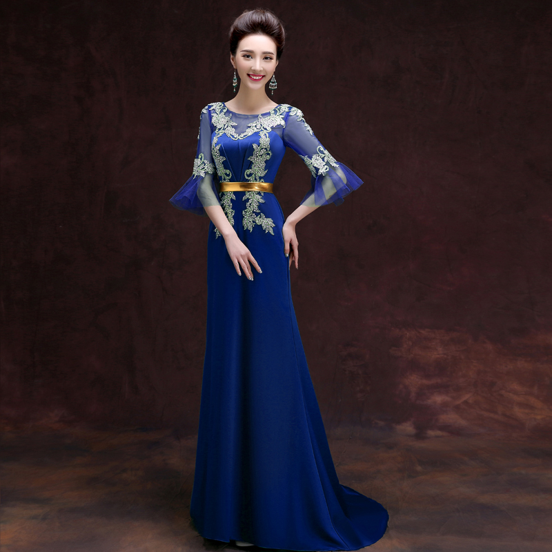 2015 Fall Banquet Gowns Evening Dresses Mother Of The Bride Gown ...