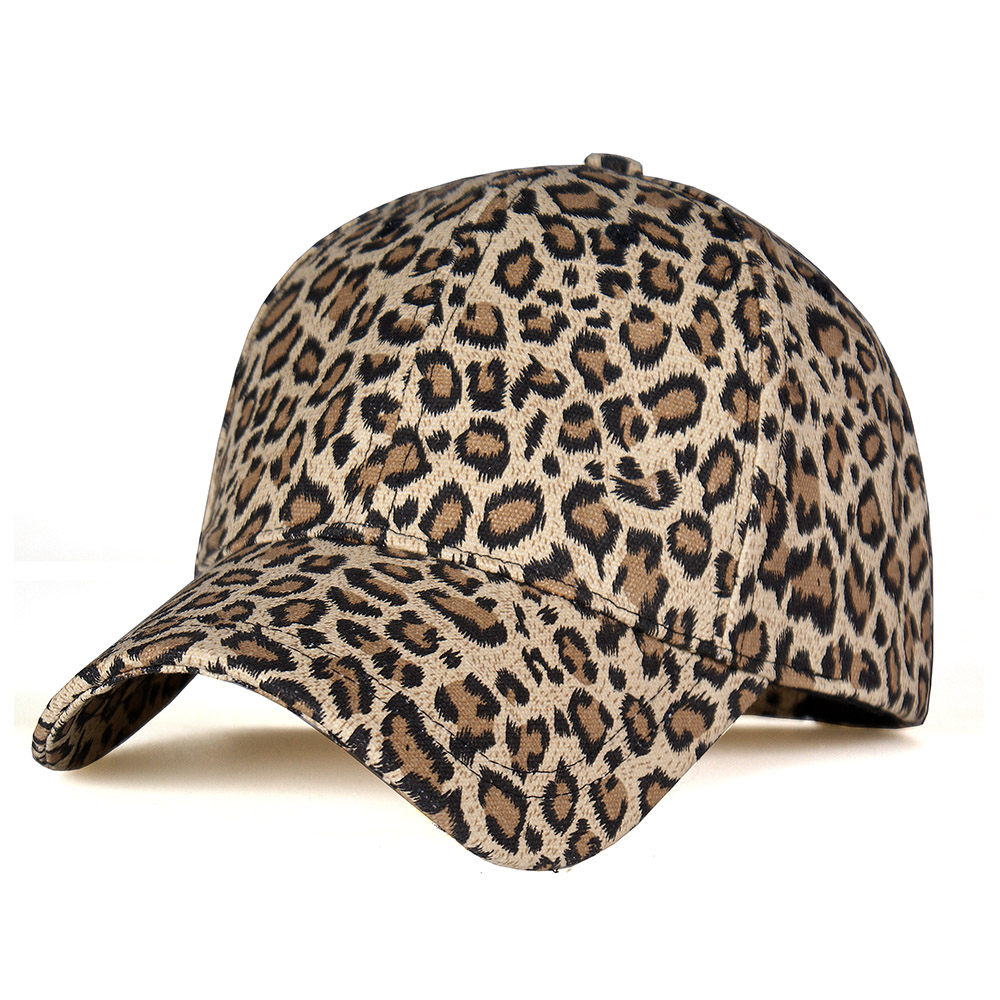 New Fashion Leopard Print Baseball Caps For Women Men