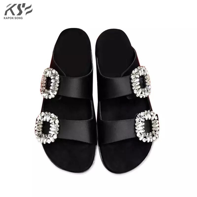 vogue designer  women flats sandals luxury styles genuine really leather shoes lady summer comfortable european fashional shoe women jelly shoes candy sandals luxury brand summer beach flats bowknot shoes casual lady fashional envirionmental shoes female