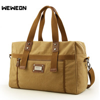Multifunctional Canvas Gym Bag Women Sports Bag For Fitness Outdoor Travel Handbags Vintage Style Men Training