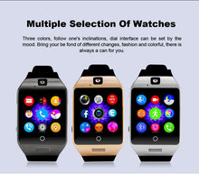 2016ใหม่บลูทูธsmart watch apro q18sสนับสนุนnfcซิมแกรมกล้องวิดีโอสนับสนุนA Ndroid/IOSโทรศัพท์มือถือpk GT08 GV18 U8